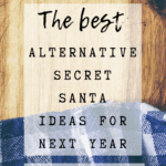 Pin Image 1 - Alternative Secret Santa ideas; tips for a meaningful gift exchange