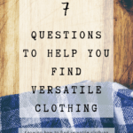 Pin image 1 - how to find versatile clothing for your capsule wardrobe